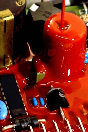 inkapsling av elektroniska komponenter