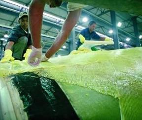 lamineringshartser för laminering av kolfibermaterial