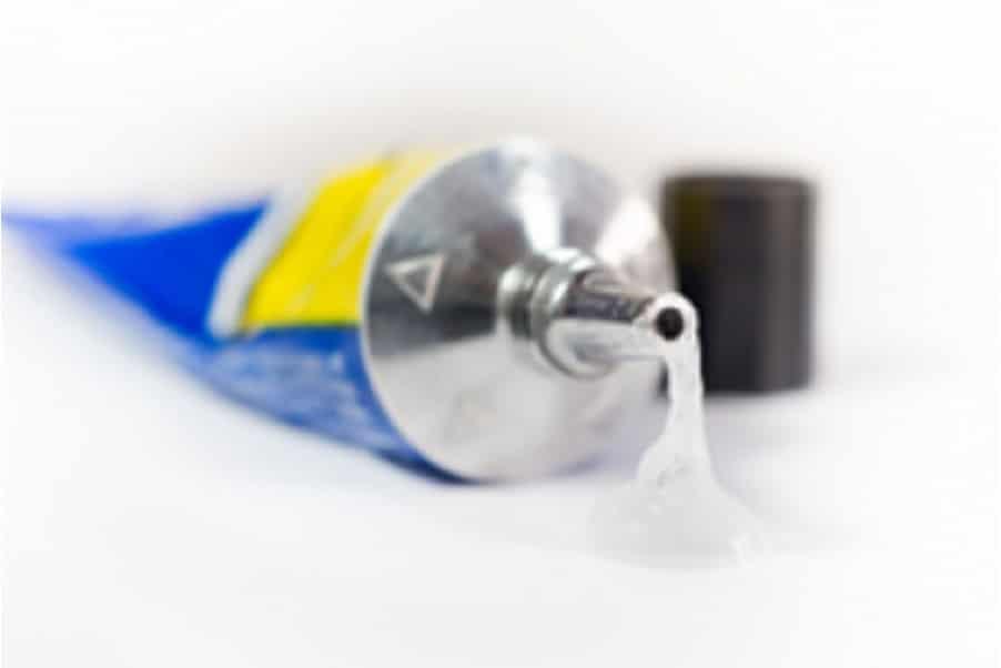 silikonpastor på tub för låg friktion